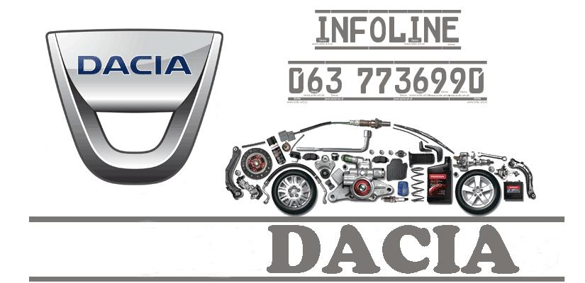 DACIA novi delovi Beograd